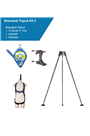 Globestock 14mtr G.Saver II Tripod Kit c/w Rescue Harness