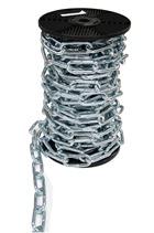 8mm Long Link Chain x 15mtr Reel