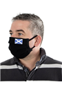 Pack of 2x 'Scotland' Two Layer Reusable Cotton Face Masks