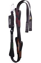 Ridgegear RGL29 Twin Leg Webbing Tie Back Lanyard & Shock Absorber