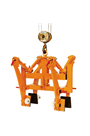 4500kg Highway Divider Clamp 150-210mm Grab Range