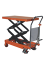 350kg Mobile Double Height Scissor Lift Platform Table Truck