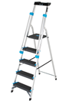 Premier XL 5-Tread Platform Step Ladders