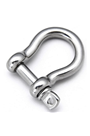 High Tensile 2.5ton Stainless Steel Bow Shackle
