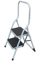 2-Tread Steel Safety Step Ladder