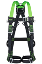 Miller 1032840 H-Design Size 2 2pt Rapco Full Body Harness 2 Loops