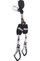 Ridgegear RGL28 Chaser Twin Leg Self Retracting Lanyard