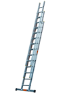Professional Trade EN131 2.5mtr Triple Extension Ladder