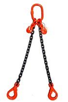 Weissenfel 4.25tonne 2-Leg ChainSling, Safety Hooks