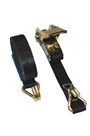1000kg Ratchet Lashing Strap (Chassis Hooks, 4mtr or 6mtr)