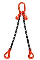 Weissenfel 2.1tonne 2 Leg Chainsling c/w Safety Hooks