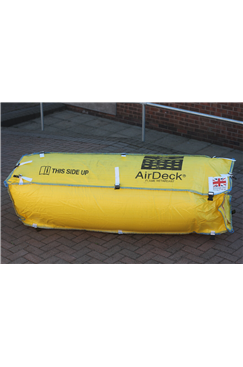 AirDeck Top and Bottom Clip Fall Arrest Soft Landing Bag