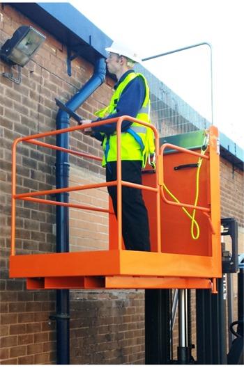 IAP-7 Forklift Access Platform (Side Gate access)