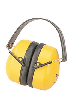 Pro Ear Defenders Yellow/Black