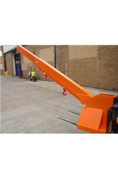 2tonne Fork Mounted Adjustable Height Extending Jib