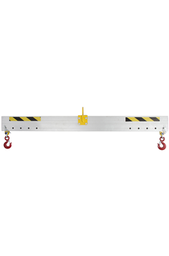 1750kg Adjustable Aluminium Lifting Beam x 4mtr