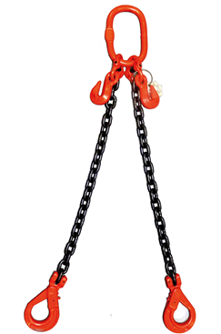 11.2 tonne ChainSling, Adjustable & c/w Safety Hooks