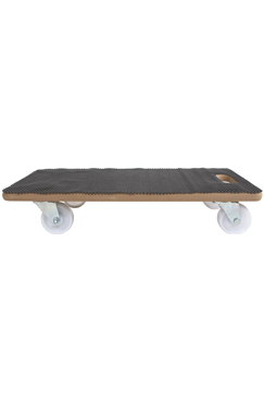 200kg MDF Wooden Dolly Trolley c/w Anti-slip Mat