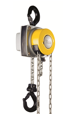 YaleLift 360degree Hand Chainblock 1000kg SWL. Lifting Height 3-15mtrs