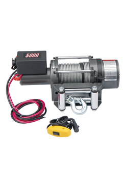 24vDC Electric Vehicle/Boat  Winch 5000LBS(2272kgs)