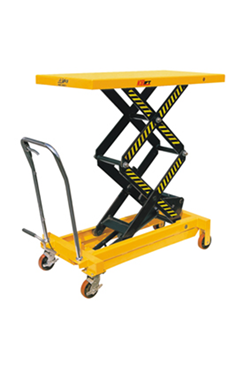 700kg Double Vertical Scissor Lift  Hydraulic Platform Table
