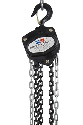 Chain Block Hoist 500 kg,  3mtr to 30mtrs