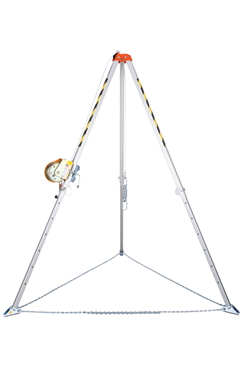 Tripod and 25mtr Winch for Rescue and Confined Space work