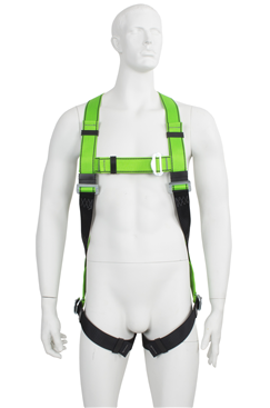 Fall Arrest Harness with Rear Dorsal Attachment