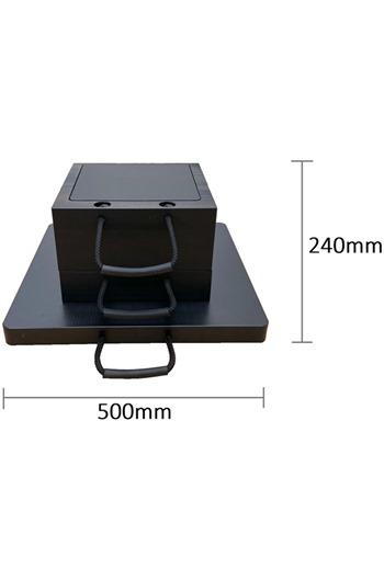 Eco-Stak Mix Kit 1 Stackable Jacking Blocks