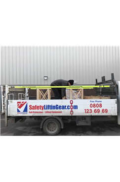 Lorry Edge Protection Lashings c/w Flat Snap Hook