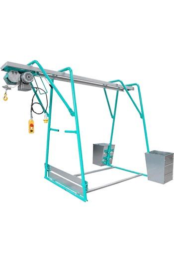 IMER 300kg 110volt Builders Gantry Hoist