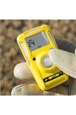 BW Clip 3yr Disposable Oxygen (O2) Single Gas Detector