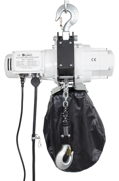 1 Tonne 240Volt Single Fall Electric Chain Hoist