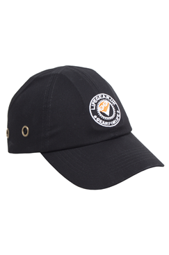 LifeGear Black Safety Bump Cap