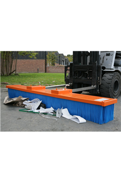 2450mm wide Fork Mounted Sweeper