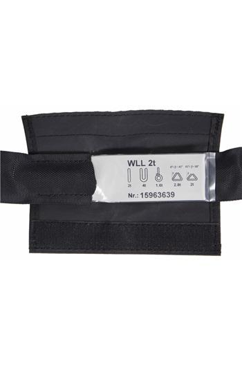 Soft Steel Core Black Roundsling 2tonne x 4mtr EWL