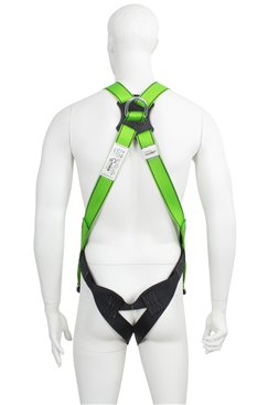 Fall Arrest Harness with Rear Dorsal Attachment Point
