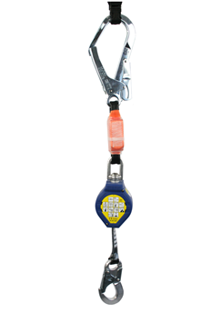 Retractable Fall Arrester with Scaffold Hook (2.4mtrs, Max Load 140 KG)