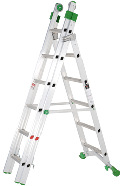 Heavy Duty 10+11+11 Combination Ladder
