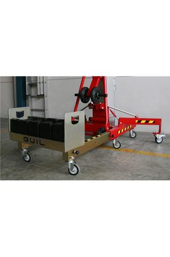 Counter balance 400kg Material Lift 3.55mtr lift height