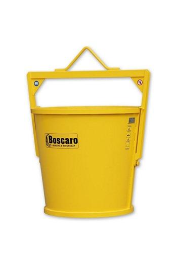 Boscaro 1000ltr Circular Muck Skip