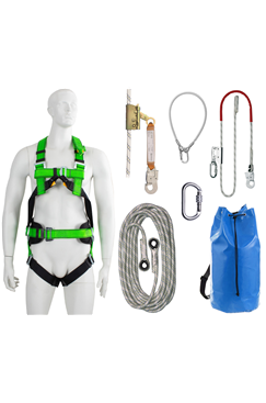 Roofers Height Safety Multi Purpose Harness Kit, M -XL,