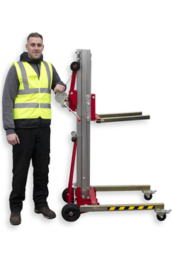 Compact, Folding Material Lift, 125kg