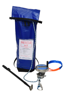 IKAR 50mtr Controlled Descent Device Rescue Kit