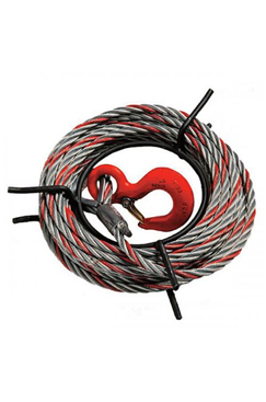 8.3mm Maxiflex Rope to suit Tractel TIRFOR 800kg Wire Rope Winch