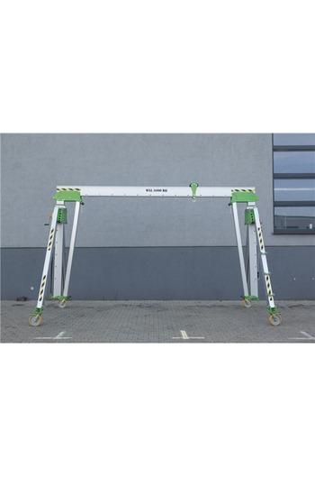 3000kg Aluminium Gantry, 7mtr beam, 2900-4700mm
