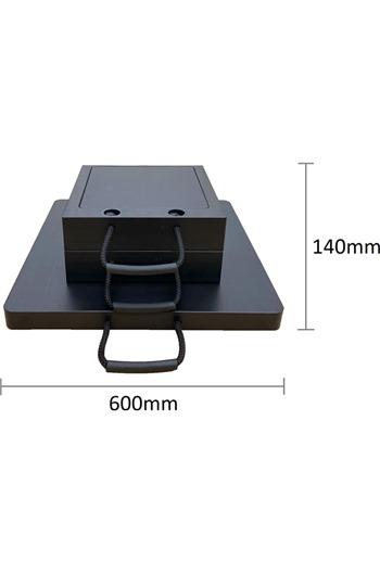 Eco-Stak Plus 50 Kit 2 Stackable Jacking Blocks