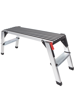 Anti-slip Aluminium Low Level Work Platform 950x300x500mm