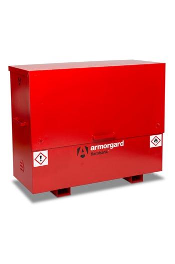 Armorgard FBC5 FlamBank Hazardous Site Storage Chest 1585x675x1275mm