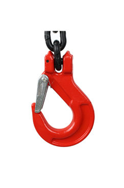 3.15 tonne 4Leg Chainsling, Adjusters & Latch Hooks